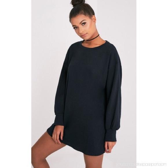 41cae5bff6e NWT Ariana Grande Oversized Sweater Dress Sz12